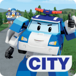 Robocar Poli: Rescue Town & City Games with Amber icon