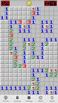 Minesweeping (free) - classic minesweeper game. pc screenshot 1