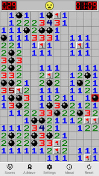 Minesweeping (free) - classic minesweeper game. pc screenshot 2