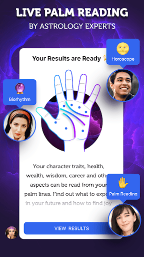 Live Palm Reader - Palmistry & Daily Horoscopes pc screenshot 1