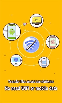 Zapya - File Transfer, Sharing pc screenshot 1