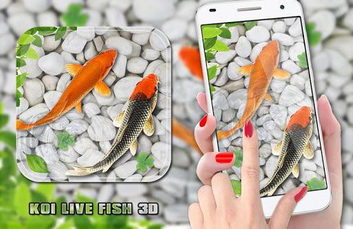 Fish Live Wallpaper 2018: Aquarium Koi Backgrounds pc screenshot 1