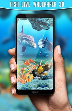 Fish Live Wallpaper 3D Aquarium Background HD 2018 pc screenshot 1