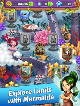 Mahjong - Mermaid Quest - Sirens of the Deep pc screenshot 2