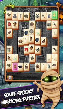 Mahjong Mystery: Escape The Spooky Mansion pc screenshot 1