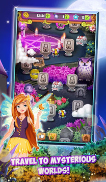 Mahjong Solitaire: Moonlight Magic pc screenshot 1