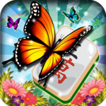Mahjong Gardens: Butterfly World for pc logo