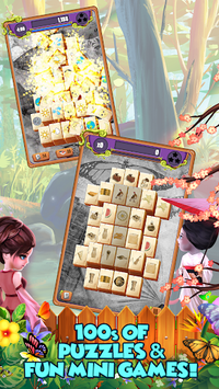 Mahjong Gardens: Butterfly World pc screenshot 2