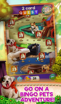 Bingo Pets Party: Dog Days pc screenshot 1