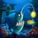 Big fish eat small fish icon