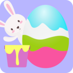 Easter Egg 3D Greetings Paint icon