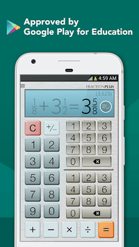 Fraction Calculator Plus Free pc screenshot 1