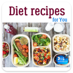 Diet Recipes for pc logo