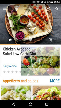 Diet Recipes pc screenshot 1