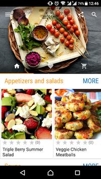 Dinner Recipes pc screenshot 1