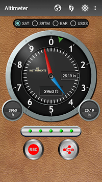 Altimeter & Altitude Widget pc screenshot 1