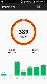 Pedometer, Step counter & Calorie counter pc screenshot 1