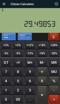 CITIZEN & GST CALCULATOR pc screenshot 1