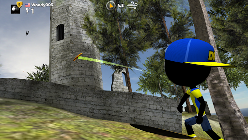 Stickman Disc Golf Battle pc screenshot 2