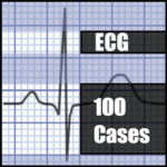 ECG 100 Clinical Cases icon
