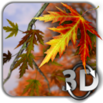 Autumn Leaves in HD Gyro 3D Parallax Wallpaper icon