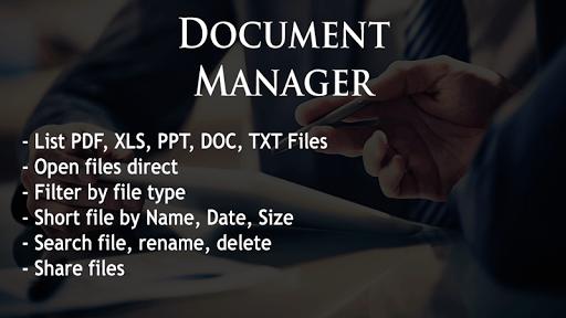 Document Manager pc screenshot 1