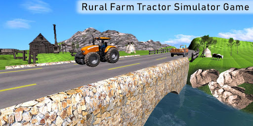 Real Tractor Driver Cargo 3D pc screenshot 1