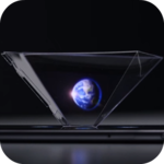 Real Hologram projector 3D icon