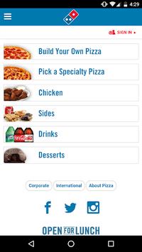 Domino's Pizza América Latina pc screenshot 1