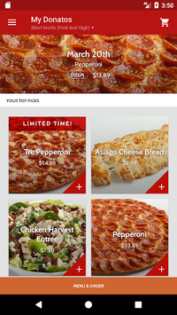Donatos Pizza pc screenshot 2