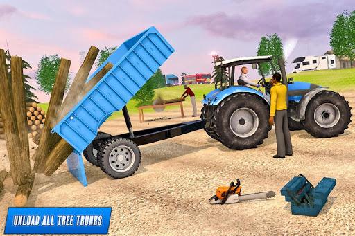 Drive Tractor Offroad Cargo- Farming Games pc screenshot 1