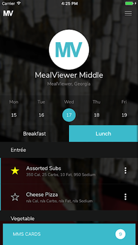 MealViewer To Go pc screenshot 1