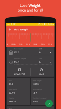 Health & Fitness Tracker with Calorie Counter pc screenshot 1