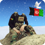 Afghan army dress editor: commandos suit changer icon
