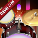 Drum Live: Real drum set drum kit music drum beat icon