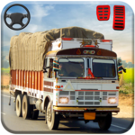 Indian truck driver cargo city 2018 icon