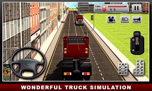 Real Truck simulator : Driver PC screenshot 1