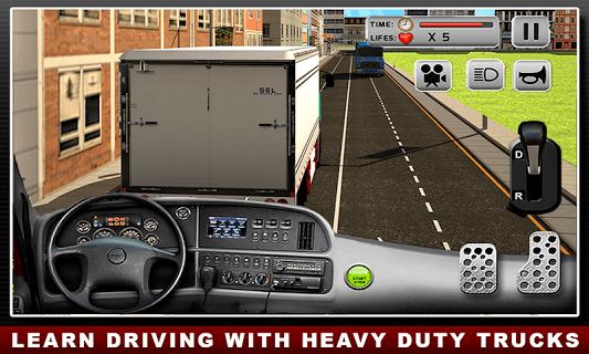 Real Truck simulator : Driver PC screenshot 2