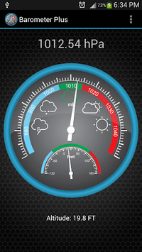 Barometer Plus pc screenshot 1