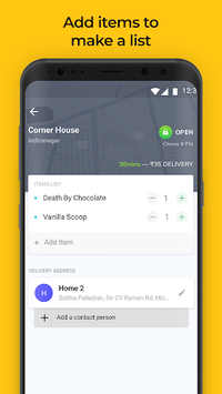 Dunzo - 24X7 Delivery: Grocery, Food, Packages pc screenshot 1
