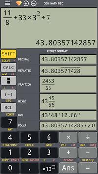 School scientific calculator 500 es plus 500 ms pc screenshot 1
