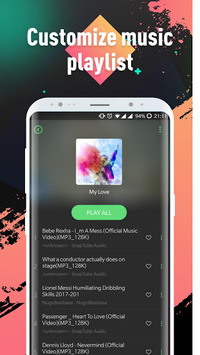 Lark Player —— YouTube Music & Free MP3 Top Player pc screenshot 1