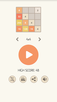 2048 Plus pc screenshot 1