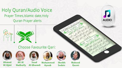 Prayer Times : AL Quran — Adhan & Qibla Direction pc screenshot 1