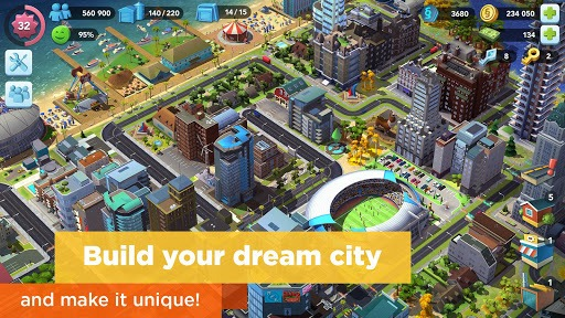 SimCity BuildIt pc screenshot 1