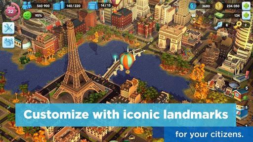 SimCity BuildIt pc screenshot 2