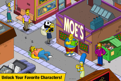 The Simpsons™: Tapped Out pc screenshot 2