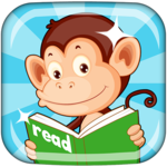 Monkey Junior: Learn to read English, Spanish&more for pc logo