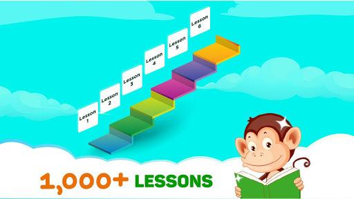 Monkey Junior: Learn to read English, Spanish&more pc screenshot 1