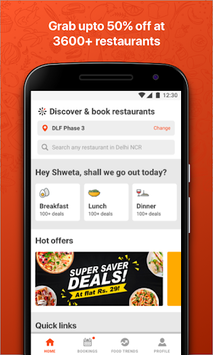 EazyDiner - Best Deals at The Best Restaurants pc screenshot 1